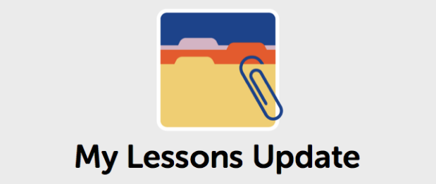 My Lessons Update