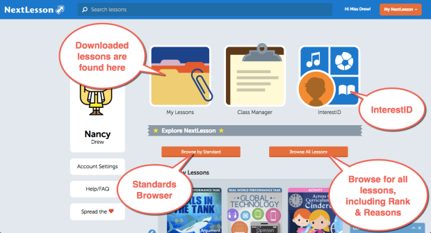 Edmodo User Homepage