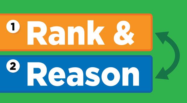Rank & Reason